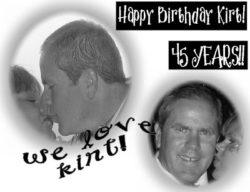 HAPPY BIRTHDAY KIRT
