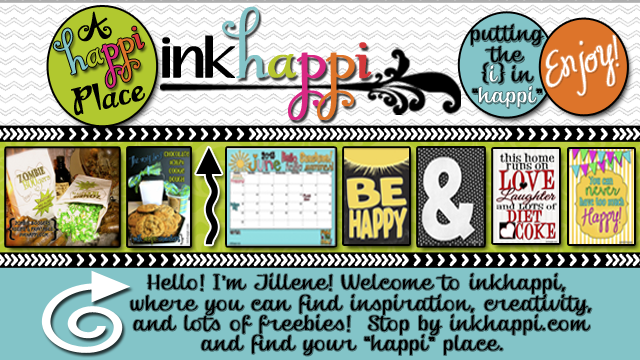 "Inkhappi--Graphic Design, Decor and MORE! Sharing tons of free printables and all kinds of ideas that can bring ""happi"" to your life! :)"