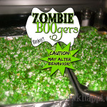 Zombie BOOgers are Yummy… Really!