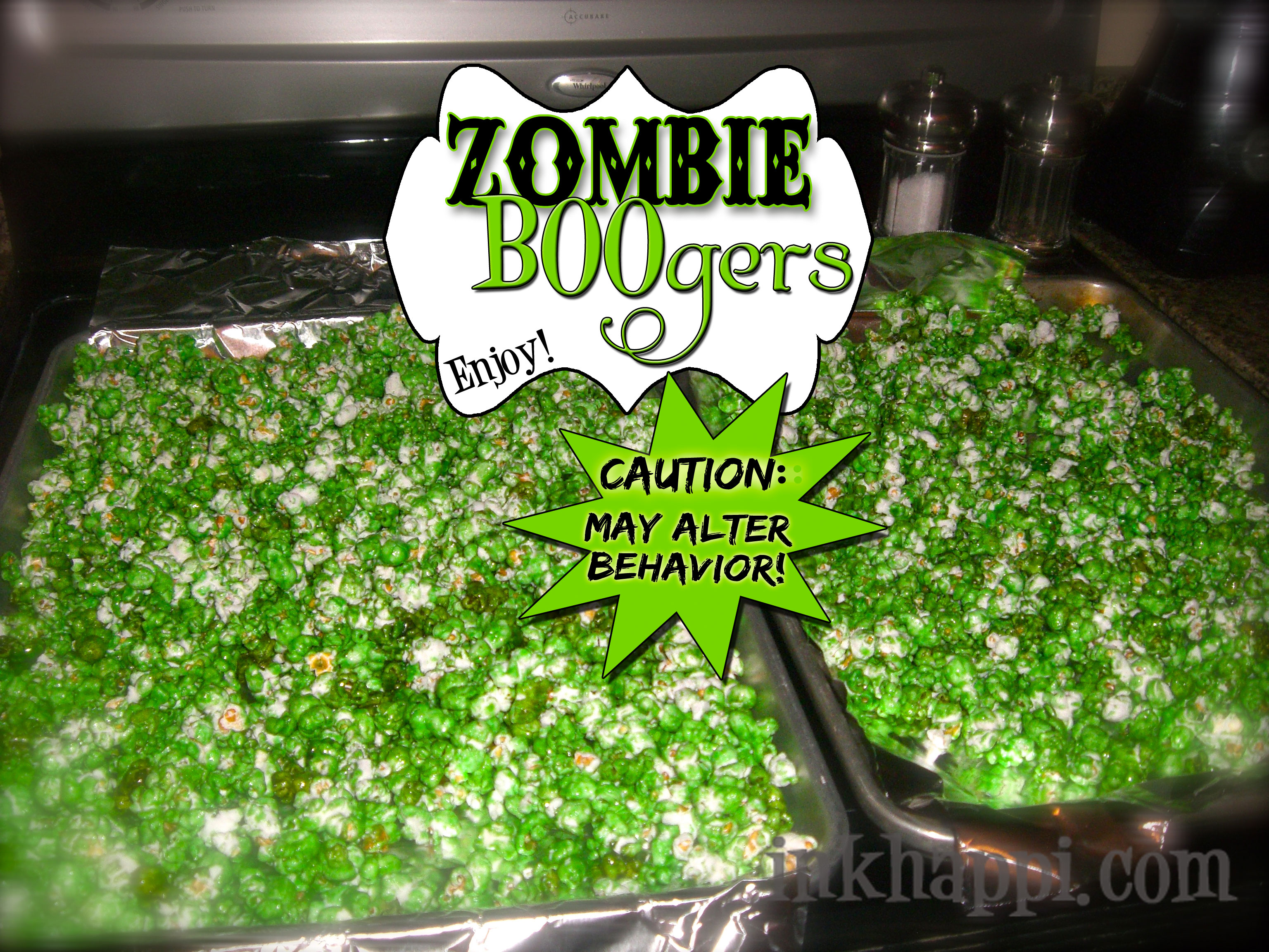Zombie boogers are yummy really inkhappi zombie boogers something very funfreaky delicious and quick and easy too forumfinder Images