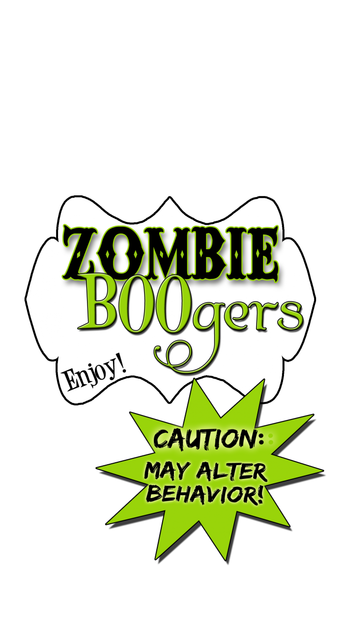Zombie BOOgers! Something very fun,freaky, delicious, and quick and easy too! Recipe and free printables at inkhappi.com
