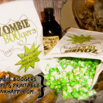Serving up some Zombie BOOgers Popcorn!