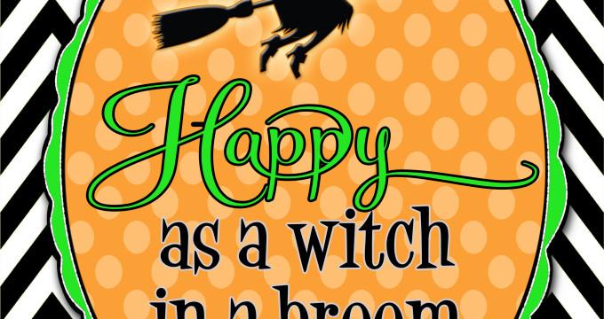 One Happy Witch!