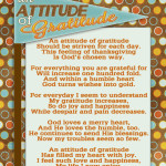 """An Attitude of Gratitude"" -Lets not skip Thanksgiving!"