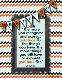 Gratitude Quotes- Let's not skip Thanksgiving!