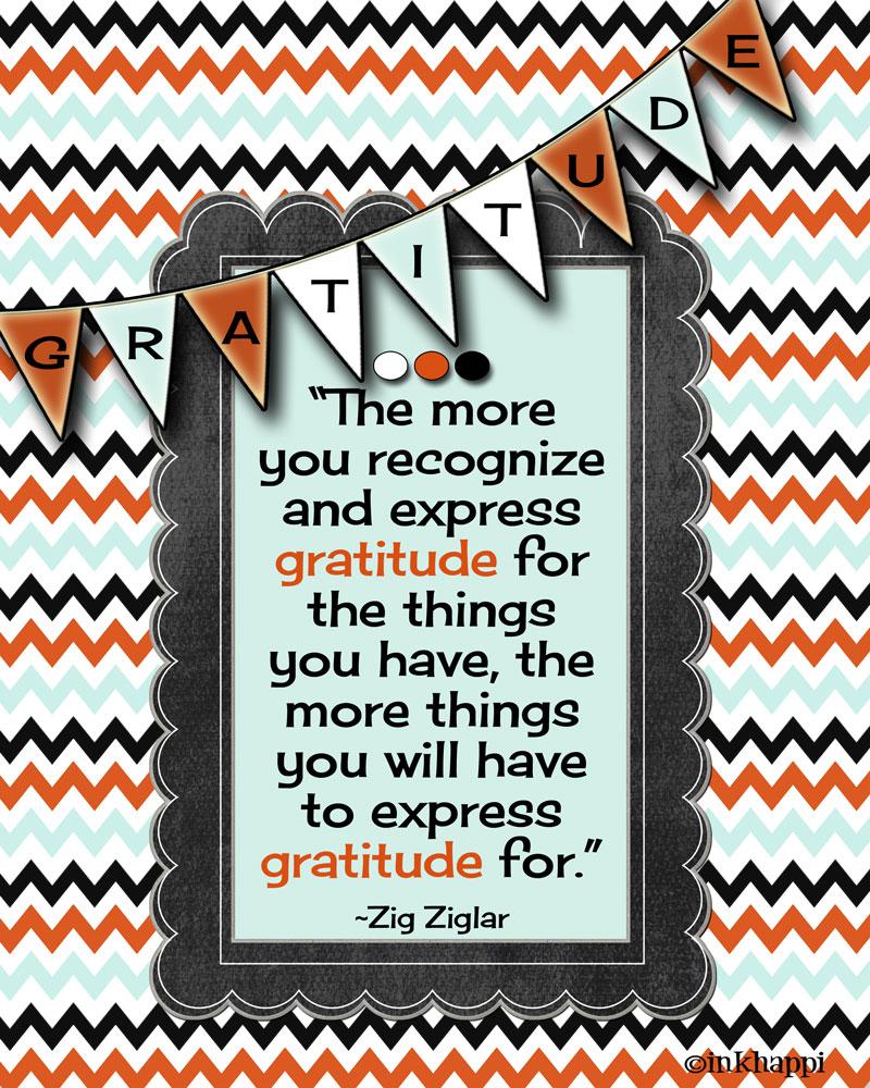 "Expressing Quotes: Gratitude Quotes... Get An ""Attitide Of Gratitude""!"