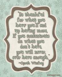 Gratitude Countdown Day 2