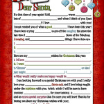 A letter to Santa… for Adults! (wink, wink)
