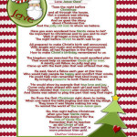 Santa and Christ …Poem and a Christmas Tradition