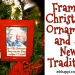 "Framed Christmas Ornaments and a ""New Framed Tradition"""