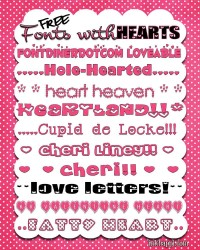 FONT HEART HAVE DOWNLOAD