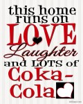 {Love, Laughter,  & Coca-Cola}
