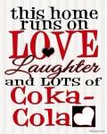 {Love, Laughter,  & Coca-Cola}