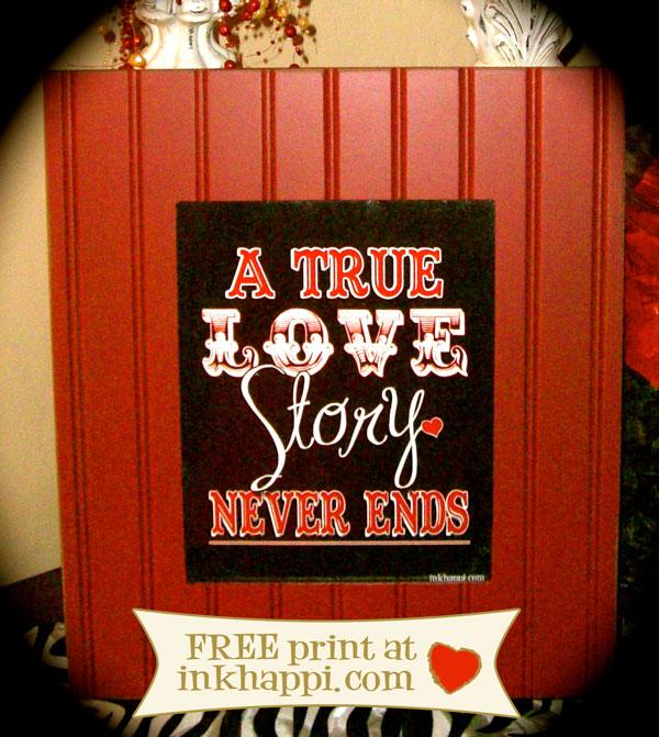 "{free ""LOVE STORY print}"