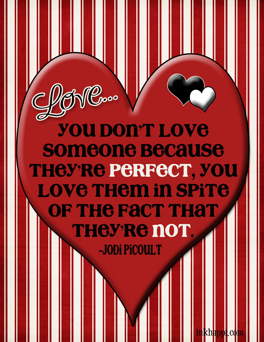 14 love quotes & printables at inkhappi.com