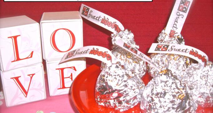 Rice Crispie Kisses at inkhappi.com