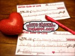 For Love or Money? Free Printable Love Checks!