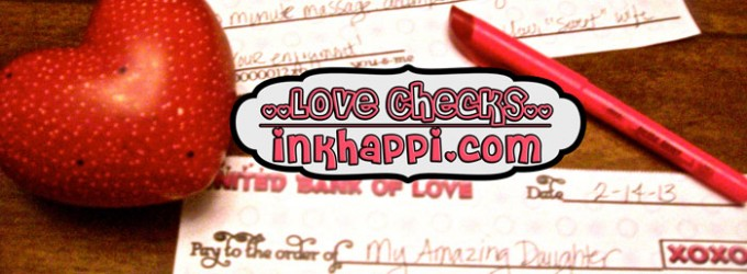 For Love or Money? Free Printable Love Checks!