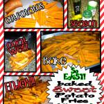 MmmmMmm Baked Sweet Potato Fries {So easy!}