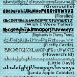 For the LOVE of Fonts~ {Fun! Free! Whimsical!}