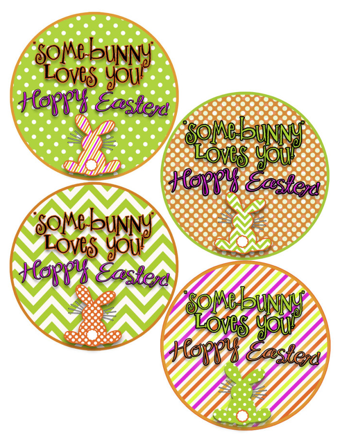 Easter tags at inkhappi.com