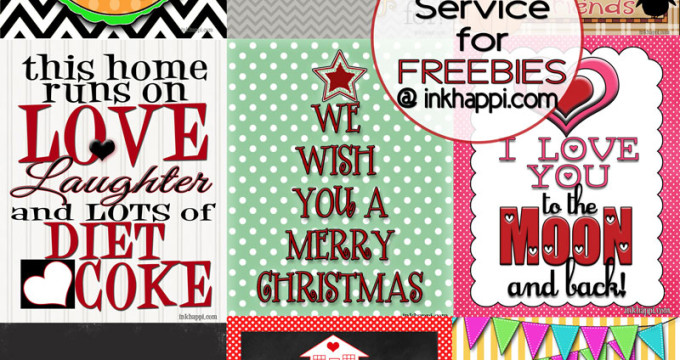 Tons of free printables at inkhappi.com