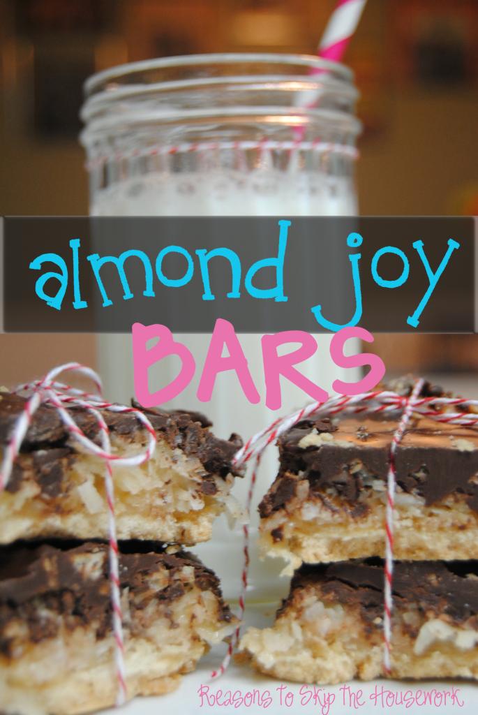 almondjoy bars