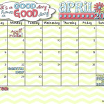 It's Your April 2013 Calendar!
