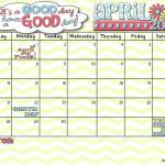 It's Your April 2013 Calendar!