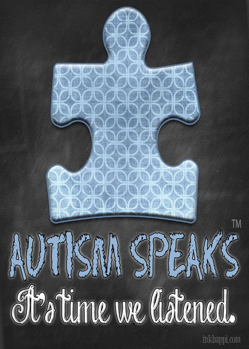 April is Autism Awareness month free printables at inkhappi.com