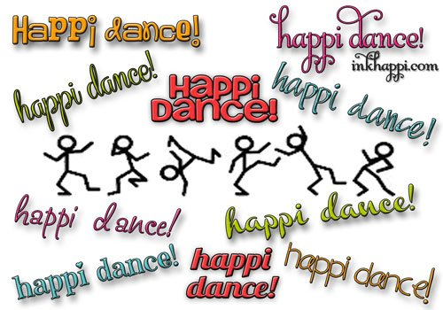 "Doing the ""happi dance"" at inkhappi.com"