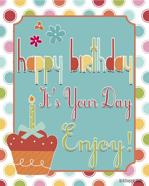 Birthday Wishes Hubby Personalized Poster By Uc: Happy Birthday To ME! {with Free Birthday Poster}
