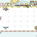 Yes… its here! {Your May 2013 Calendar}