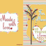 Mothers Day Card : 10 things I love about you Mom!