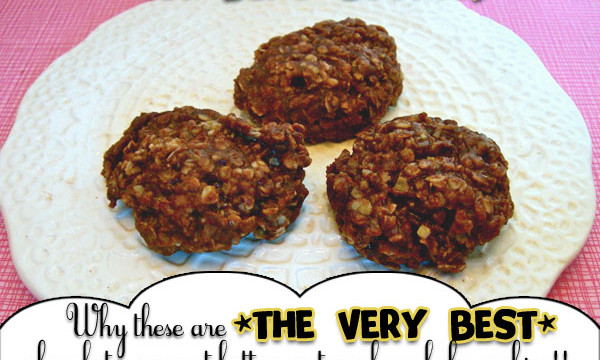 What makes these the very best no-bake cookies! recipe at inkhappi.com