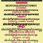 """My favorite """"C""""  Free Fonts with Links :)"""