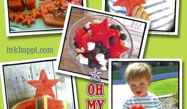 Stars, Stars, Oh my Stars… Watermelon Stars!