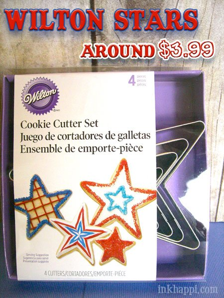Oh my stars! There is so much you can do with star cookie cutters. Watermelon Stars at inkhappi.com