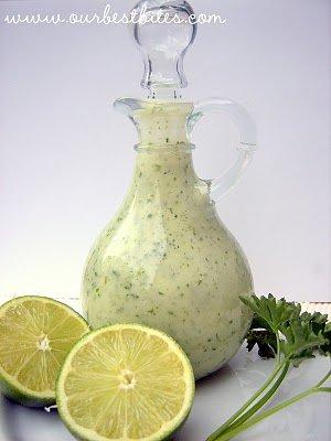 Cilantro-Lime Vinaigrette from Our Best Bites