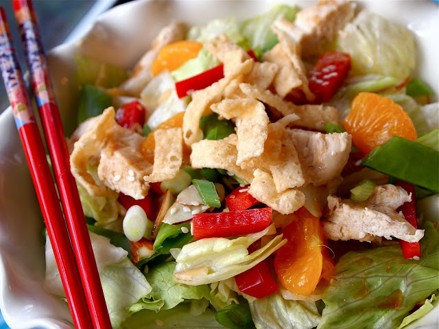 Asian Chicken Salad from Pretty Kitty's Kitchen