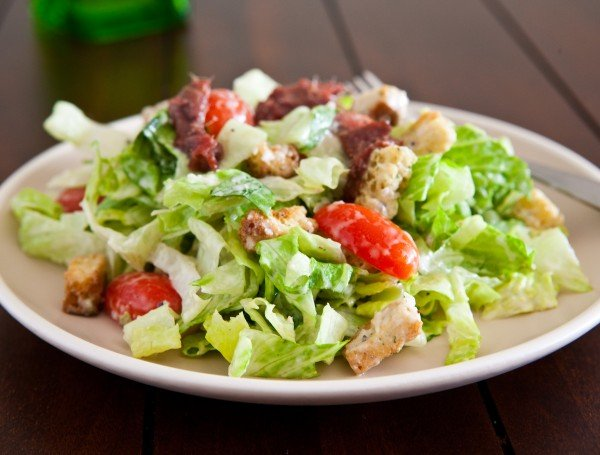 Simple Caesar Salad from Eclectic Recipes