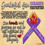 {Grateful for Firefighters} Granite Mountain Hotshots… True Heroes!
