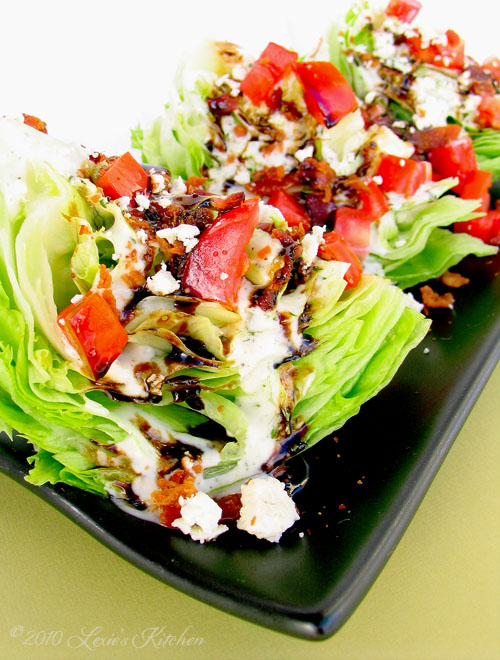 Outback Steakhouse Wedge Salad from Lexie's kitchen