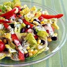 Santa Fe Salad with Chili-Lime Dressing from Weight Watchers