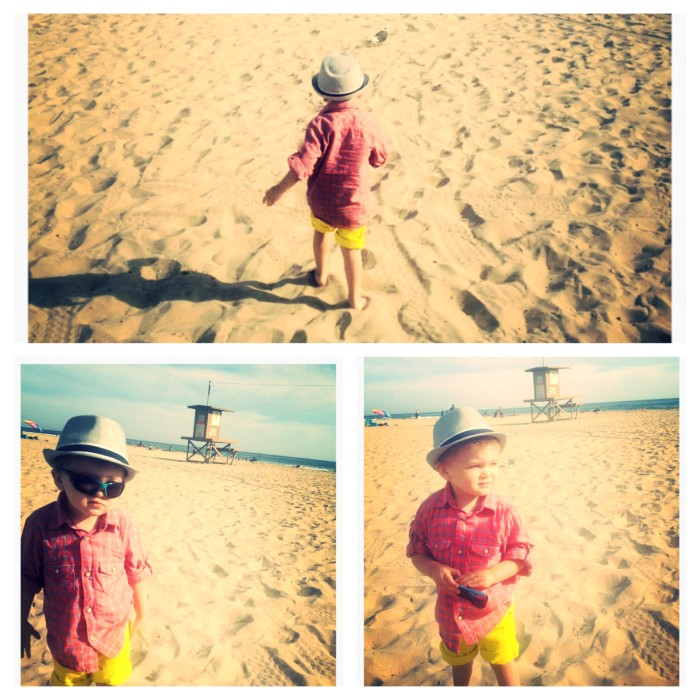 My grandson should model for H&M kids. Right? Love this kid!