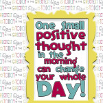 Positive thoughts in the morning can change your whole day
