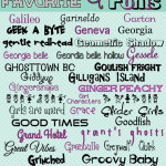 "Fonts Post is here… We are at ""G""!"