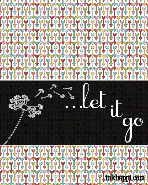 "Some awesome ""Letting Go"" quotes and tips to make room for more ""happy"" in your life. #lettinggoquotes #freeprintables"
