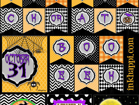 Halloween  Printables … Banners & More!