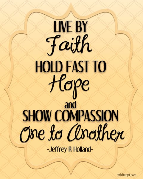 Quote from a wonderful talk on depression and mental health issues from Jeffrey R Holland #generalconferencequotes